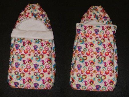 Как пошить зимний конверт для новорожденного своими руками 9