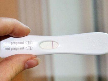 Через сколько дней тест покажет беременность после па