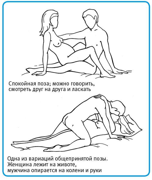 Фото позы для секса с беременными фото 250-980