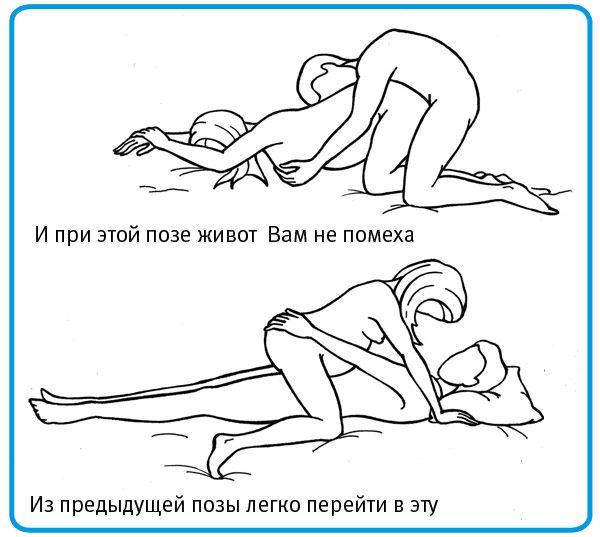 Секс во время беремености позы водео