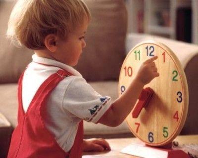Как научить ребенка определять время по часам